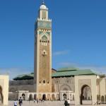 W gorącym słońcu Casablanki...
