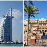 Burj Al-Arab kontra Emirates Palace, czyli luksus uTwoichstóp…