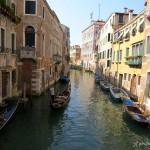 Spacer po romantycznych zaułkach Wenecji...
