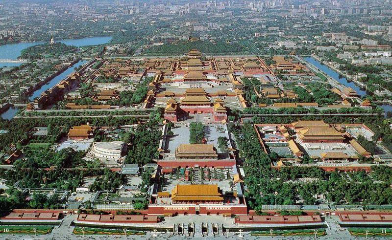 Forbidden City (aerial photo)2