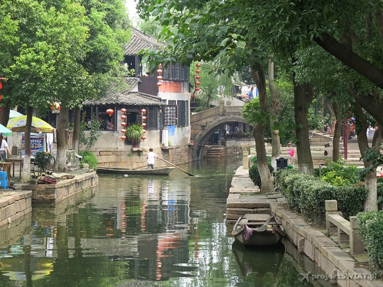 luzhi ancient water town china