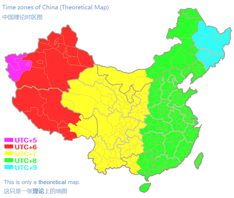 Timezones_of_china